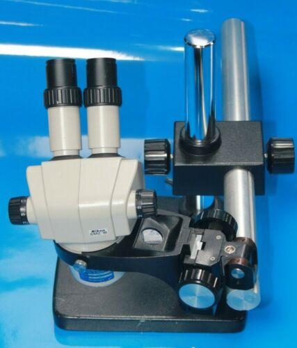 Nikon SMZ-1B Stereozoom Microscope Head w/ Stand #5