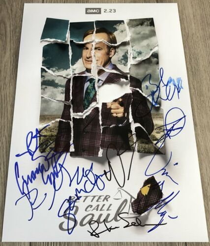 BOB ODENKIRK +8 SIGNED AUTOGRAPH BETTER CALL SAUL 12x18 PHOTO w/EXACT PROOF