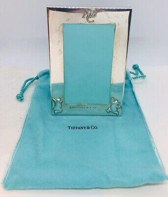 Tiffany & Co.Authentic 925 Sterlingsilber Abc Bär Kindergarten Bild Rahmen