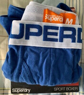 Superdry Sport Boxer Short Royal Blue Size Medium