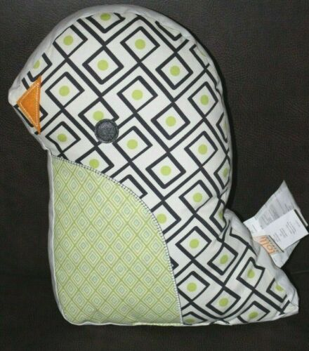 Lolli Living PHINLEY Penquin Decorative Pillow Stuffed Animal Baby Nursery 16x12