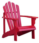 Red Patio Adirondack Chairs