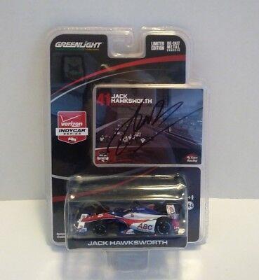 Greenlight 1:64 2015 Indy Car Series Jack Hawksworth Signed Limited Ed. Sealed