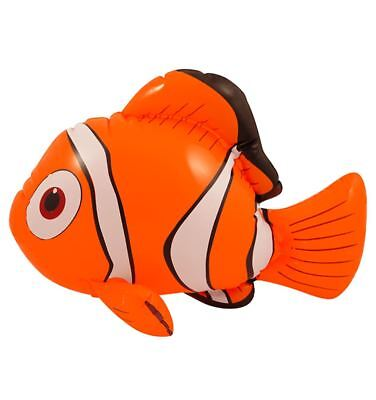 Kids Inflatable Blow Up Clown Fish 43cm Childrens Fancy Party Toy Accessories