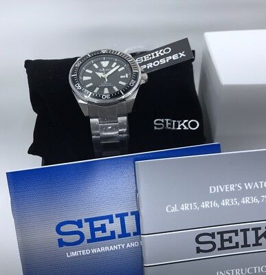 NEW SEIKO SRPB51 PROSPEX AUTOMATIC DIVERS SAMURAI WATCH