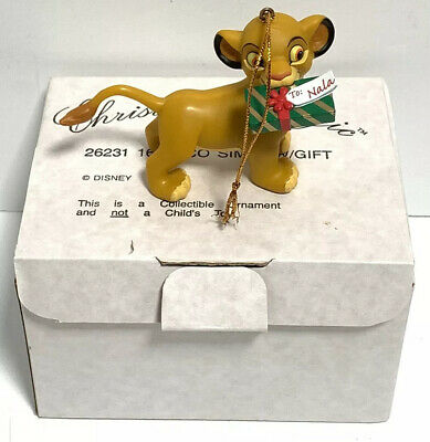 Christmas Magic Disney The Lion King Simba with Gift 26231 161 Great Condition