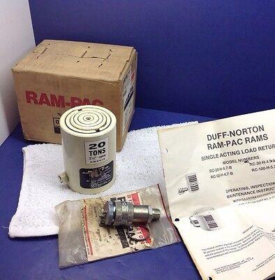 Ram Pac R-20-h-4.7-b 20 Ton Low Height Hydraulic Cylinder 2.25 Stroke Usa Made