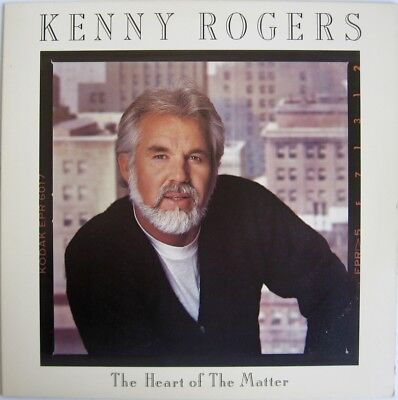 - Kenny Rogers: The Heart Of The Matter LP RCA # AJL1-7023 with Lyric Sleeve EXC++