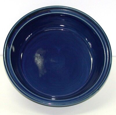 """Vallauris Fait Main Pottery Bowl ~ Deep Blue ~ 11"""" Diameter **NEW** for sale  Shipping to Canada"""