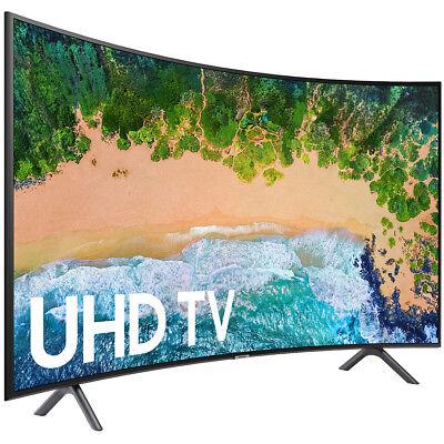 """Samsung UN65NU7300 65"""" NU7300 Curved Erudite 4K UHD TV (2018 Model)"""