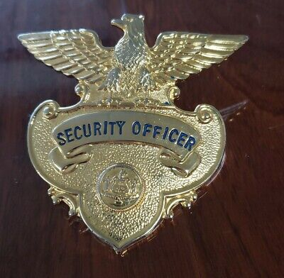 Morgan Security Enforcement Officer Hat Badge Commonwealth Of Kentucky