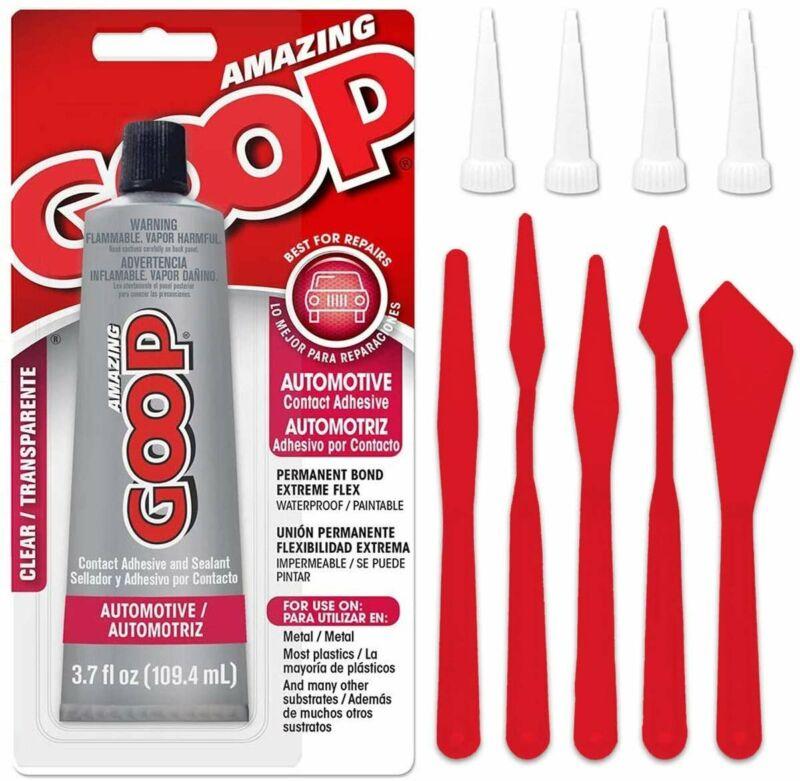 Pixiss Bundle - Automotive Amazing Goop Glue 3.7 Ounce (109.4mL) Tube...