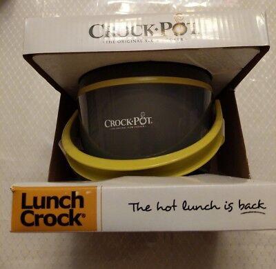 Crock-Pot SCCPLC200-G 20-Ounce Lunch Crock Food Warmer Grey / Green