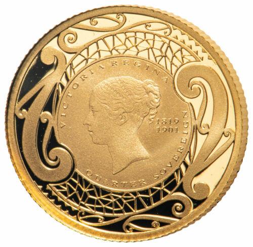 2019 New Zealand 2g Gold Quarter Sovereign Proof Coin SKU58682