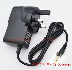Universal IC Power Adapter AC Charger 5V 2A DC 2.5mm for Android Tablet PC UK