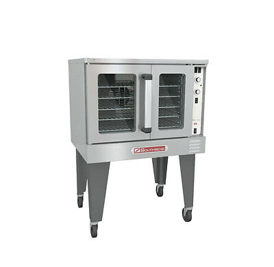 Southbend Bgs12sc Bronze Series Single Deck Convection Oven Gas 54000 Btus