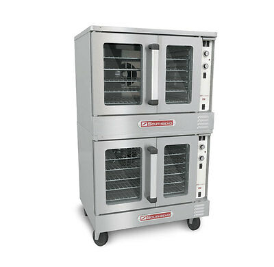 Southbend Silverstar Double Deck Gas Convection Oven W Casters