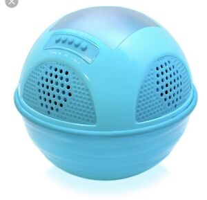 Floating chargeable and solar powered radio/blue tooth speaker