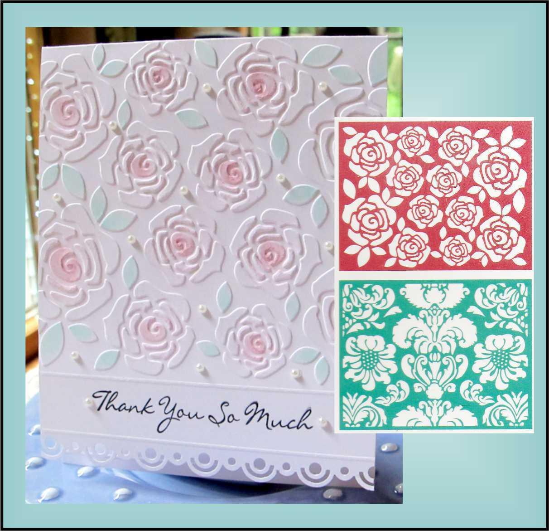 Lifestyle crafts embossing folders - Flower Embossing Folder Set Floral Ef0001 Lifestyle Crafts