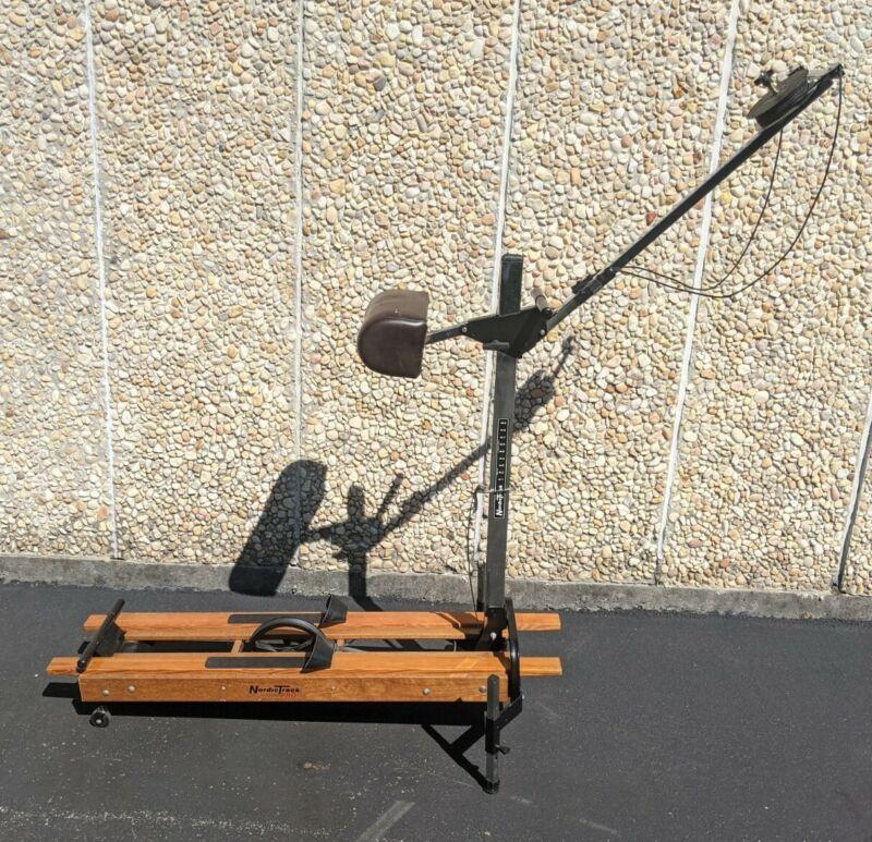 NordicTrack Pro Ski Machine Exerciser Total Body Workout Older Pro Model