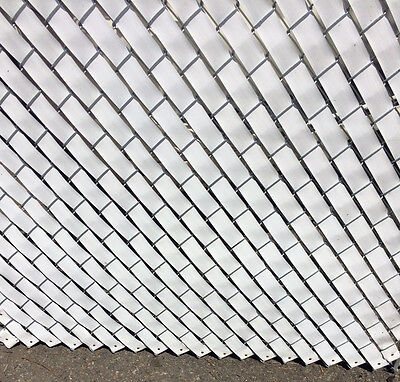 Privacy Fence Weave for Chain Link Fence - 250ft. Roll - WHITE