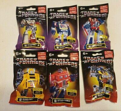 Transformers G1 Mini Figures Set Of 6 Bumble Bee Megatron Soundwave Starscream