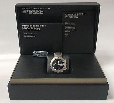 Porsche Design Chronograph Automatic Black Dial Mens Watch 6500.10.40