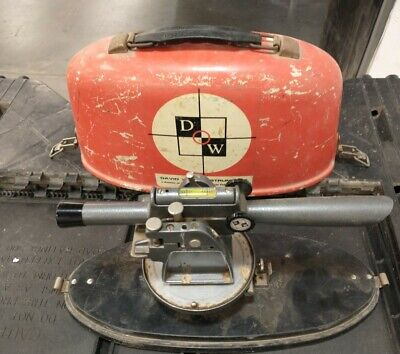 Vintage David White Instruments Dw-8090 Barn Find Survey Tool