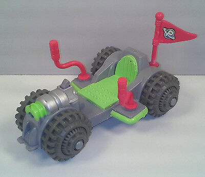 "2007 Moon Rover Car 6"" Planet Heroes Action Figure Vehicle"