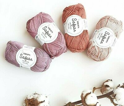 100% Egyptian cotton, sport weight yarn, soft cotton for summer, Drops SAFRAN](Crafts For Summer)