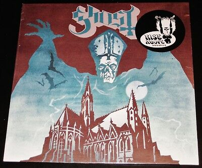 Ghost: Opus Eponymous LP Green Marble Color Vinyl Record 2010 Rise Above UK NEW