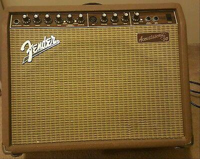 Fender Acoustasonic 30 Acoustic-Electric Amp w/Reverb & Chorus – 30 Watts