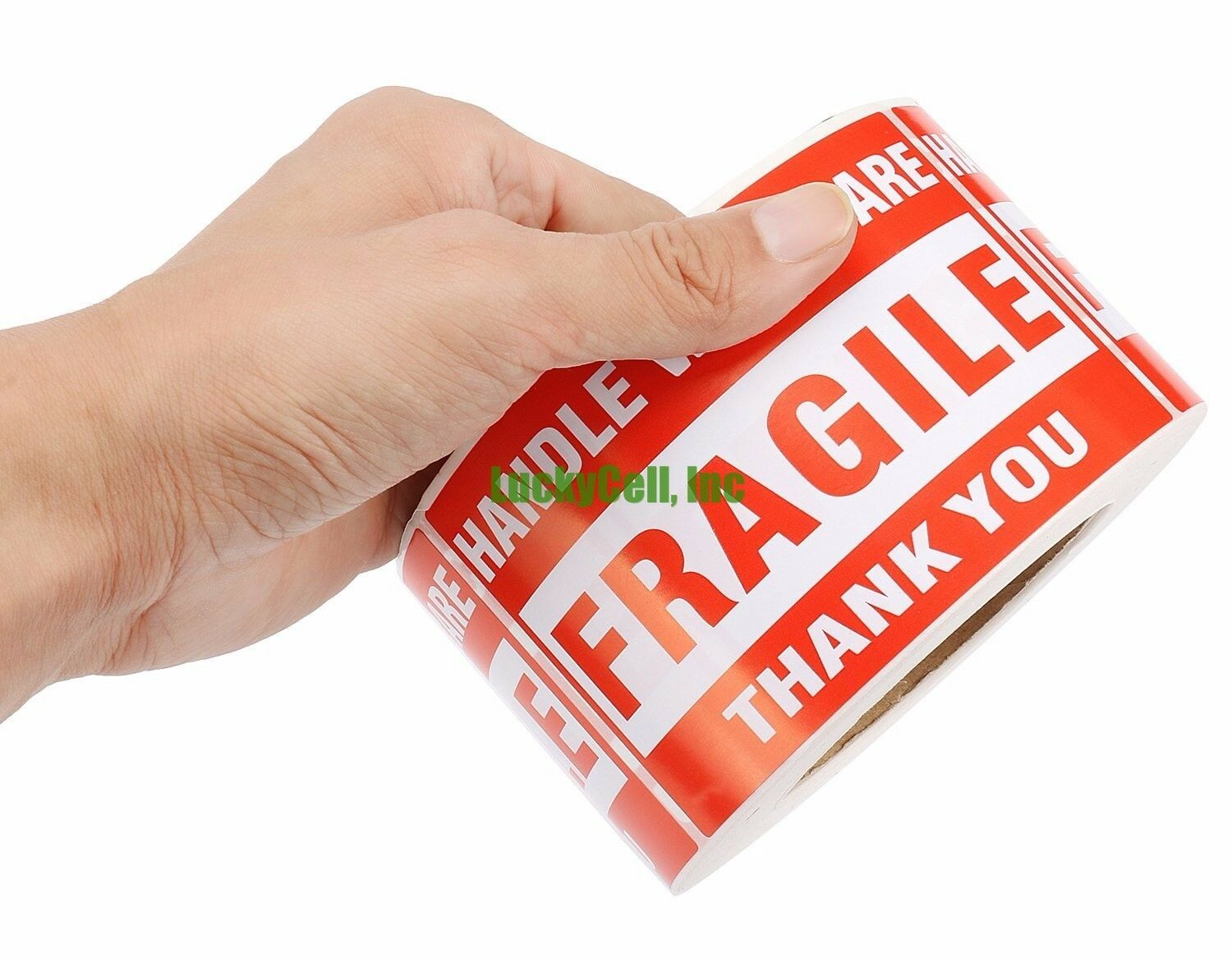2000 Labels 3x5 Handle With Care Fragile Label Sticker 2 Rol