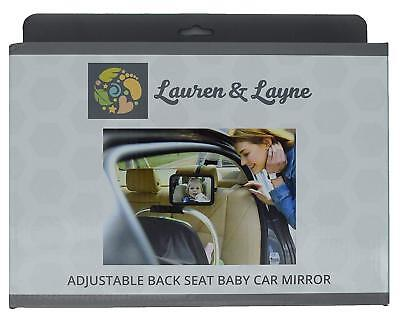 Lauren & Layne Baby Mirror - Baby Car Mirror - Baby View and In-sight Mirror  for sale  Shipping to India