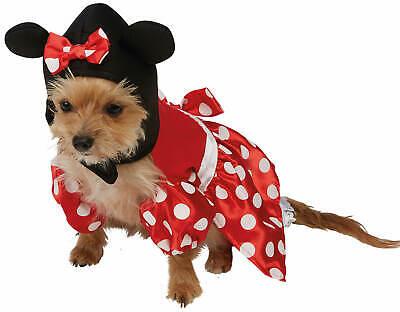 Minnie Mouse Hundekostüm Disney Karneval Fasching Kostüm - Minnie Mouse Disney Kostüm