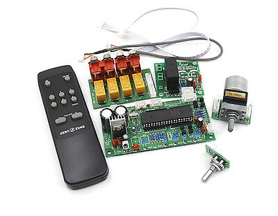 Assembled Remote ALPS motor Volume control preamplifier board + Standby board