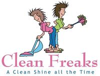 Evening house cleaning service
