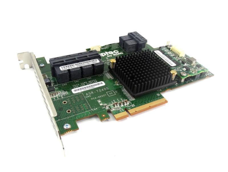 ASR-72405 Adaptec 24-Port 1GB Cache 6Gb/s SAS SATA PCIe 3 RAID Controller Card