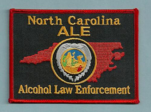 NORTH CAROLINA STATE ALE ALCOHOL LAW ENFORCEMENT SHOULDER PATCH