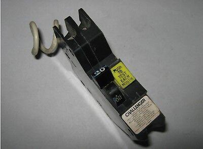 Challenger Stab-lok Circuit Breaker Na120gf 1 Pole 20 Amp Used