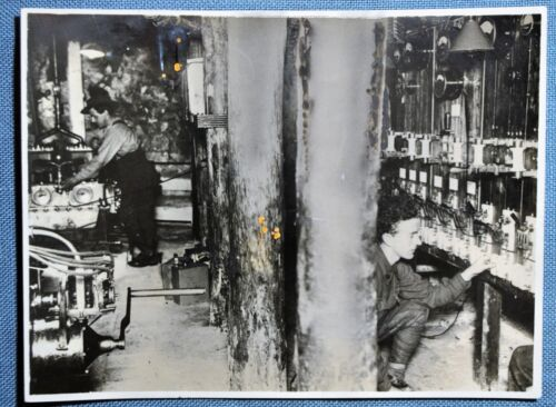 WWI Australian Engine Room Below Suburbs of Arras, France