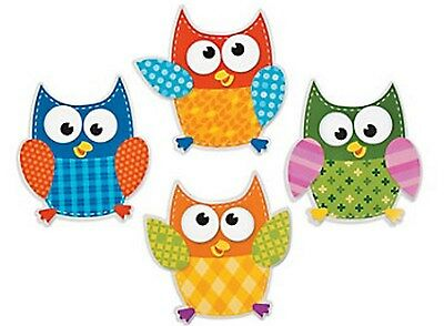 24 WHIMSY OWL CUTOUTS Huge Lot SUPER Adorable Paper Cutouts HOOT OWL DECORATIONS](Owl Cutouts)