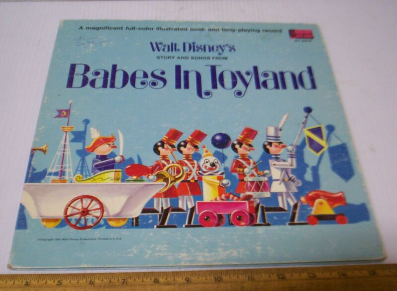 "Walt Disney's ""Babes in Toyland"" Story and Music  Record Album"