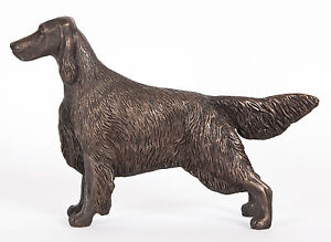 IRISH SETTER (STANDING): COLD-CAST BRONZE FIGURINE  7.75