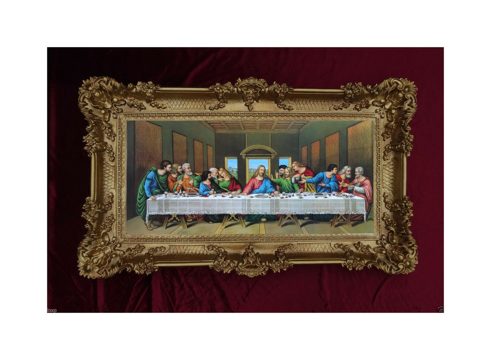 Jesus Christus mit den zwölf Aposteln 12 Apostel das letzte ...