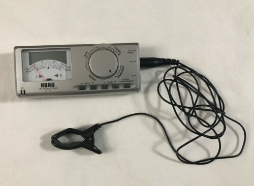 Korg OT-12 Orchestral Chromatic Tuner with Clip