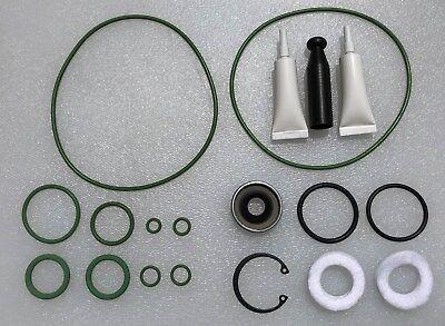 GM A6 AC Compressor Reseal Kit - Orings, Seal, Instal TOOL, FREE OIL, GREEN HNBR