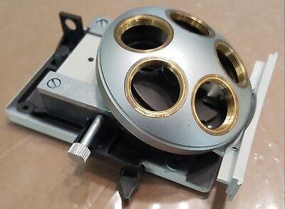 Leitz 5-position Objective Nosepiece - Dialux 20 Eb Microscope - Rms Thread
