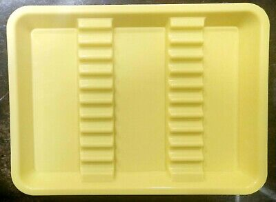 1 X Dental High Quality Plastic Instument Tray Small Size - Multi Colour Avail