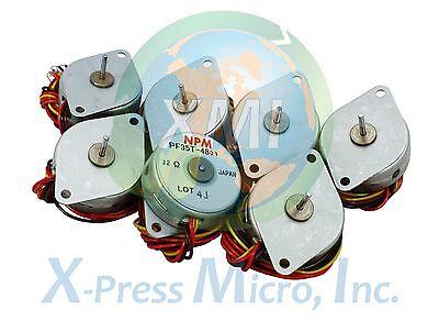 New Lot Of 7 Npm Pf35t-48 Stepper Motor Pf35t Pf35t-48d1